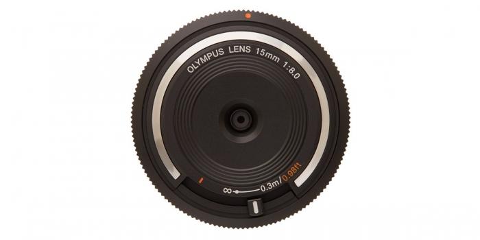 OLYMPUS 15mm f8.0 Body Cap Lens *** YELLOW TAG ***