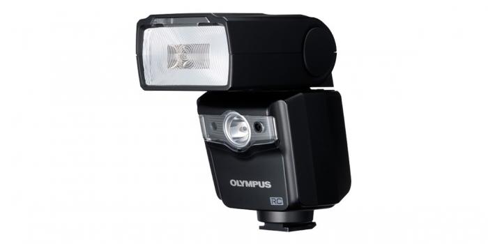 OLYMPUS FL600R Flash Black