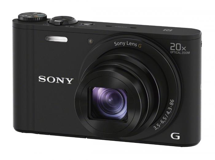 SONY CyberShot DSCWX350 Black 20x Zoom