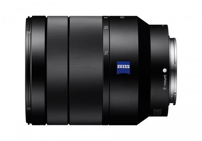 SONY 24-70mm f4 ZA OSS Vario Tessar T* Lens  Black  E mount