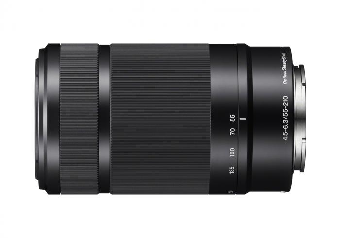 SONY 55-210mm f4.5-6.3 OSS Lens for NEX  Black                  E mount