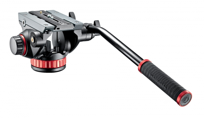 MANFROTTO 502 Fluid Video Head with Flat Base