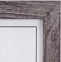 "MALDEN Linear White Wash Ridge 8""X10"" Frame"