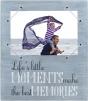 "MALDEN ""Life's Little Moments"" Cordage Sentiments 4""x6"" Frame"