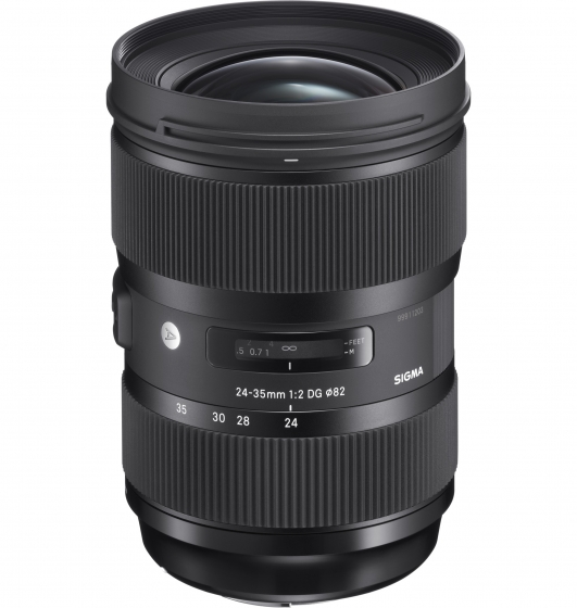 SIGMA 24-35mm f2 DG HSM Art FLD & Low Dispersion Lens       EOS