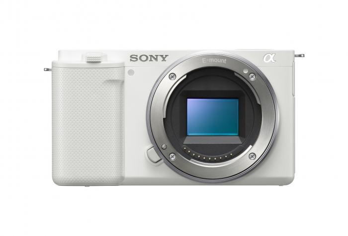 SONY Alpha ZV-E10 - ICL Vlog Camera - BODY ONLY (WHITE)
