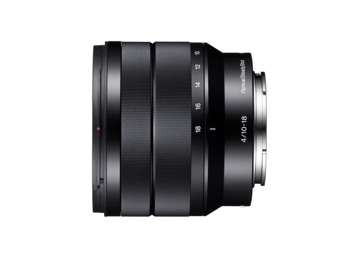 SONY 10-18mm f4.0 OSS Lens for NEX E mount