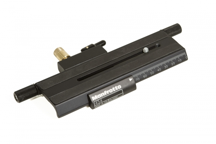 MANFROTTO 454 Micro Positioning Plate   #CLEARANCE