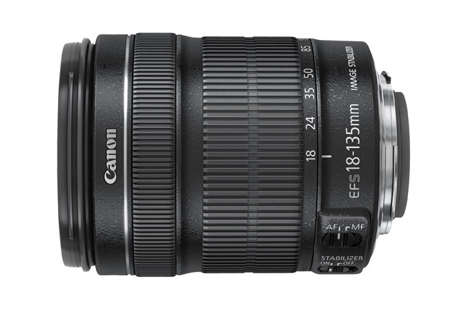 CANON 18-135mm f3.5-5.6 IS USM with mount for Power Zoom