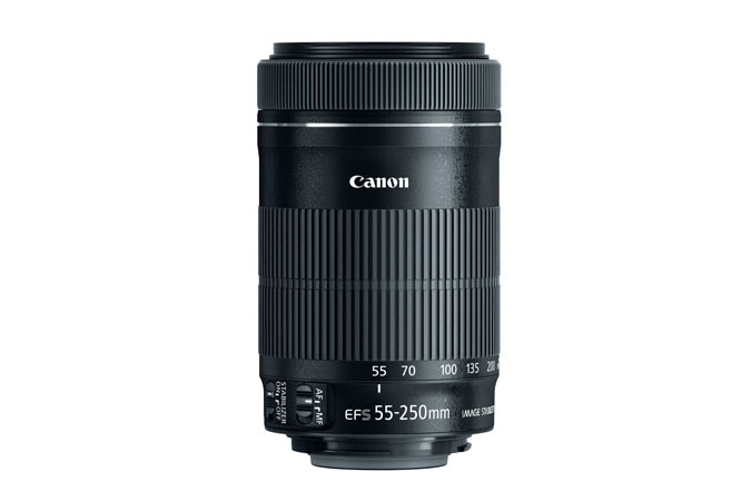 CANON 55-250mm f4-5.6 IS STM Lens