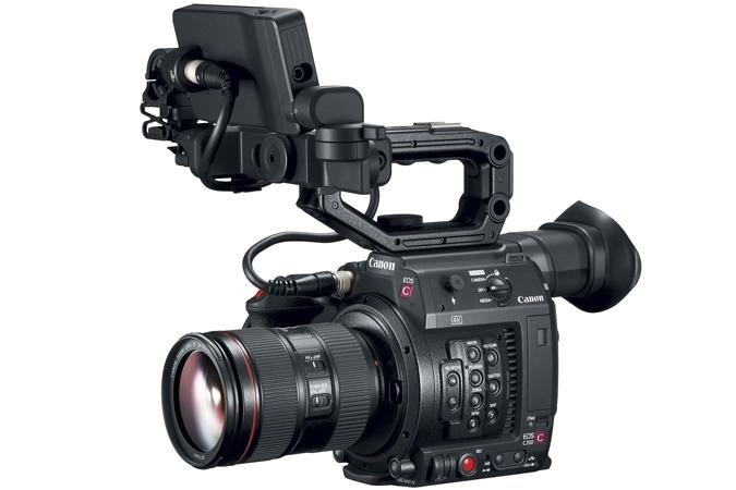 CANON EOS Cinema C200 Camcorder Dual Pixel AF w/ Monitor & Handle