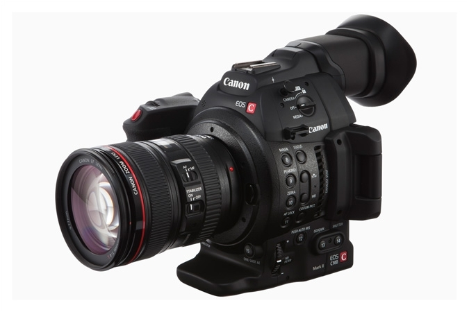 CANON EOS C100 Mark II Camcorder w/ Dual Pixel CMOS AF