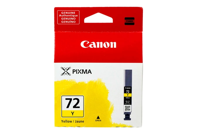 Canon Pixma PRO 10 pigment ink PGI72 Yellow Ink Tank
