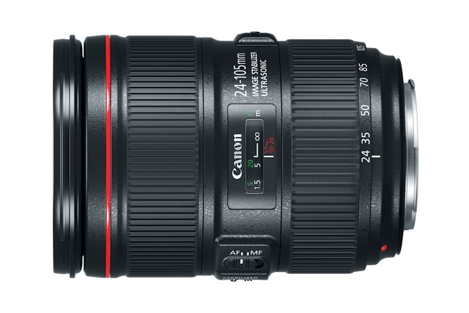 CANON 24-105mm f/4 IS II USM