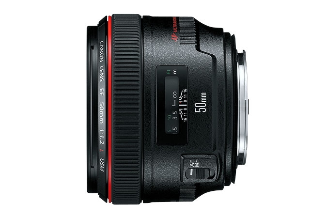 CANON 50mm f/1.2L  USM