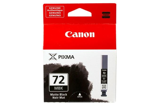 Canon Pixma PRO 10 pigment ink PGI72 Matte Black Ink Tank