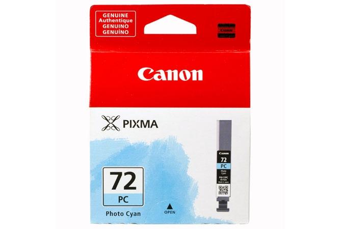 Canon Pixma PRO 10 pigment ink PGI72 Photo Cyan Ink Tank