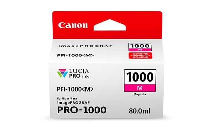 CANON PFI1000M Magenta Ink Tank for PRO1000 Printer