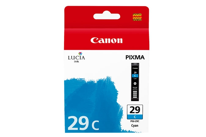 Canon Pixma PRO 1 pigment ink PGI29 Cyan Ink Tank