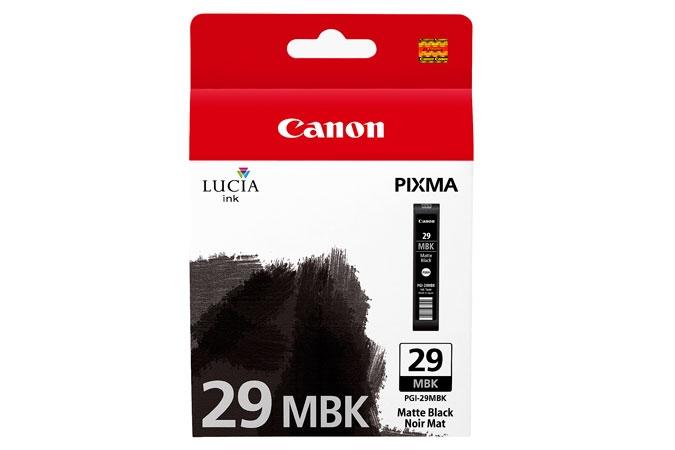 Canon Pixma PRO 1 pigment ink PGI29 Matte Black Ink Tank
