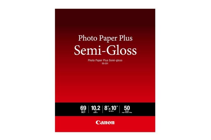 "CANON Photo Paper Plus Semi gloss 8""x10"" 50 sheets"