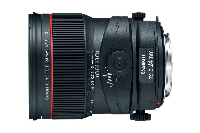 CANON 24mm f3.5L TSE II Tilt / Shift Lens