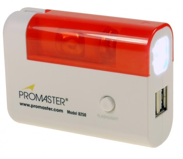 ProMaster EMERGENCY! USB powersupply and flashlight