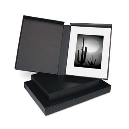 "PRINTFILE Black Portfolio Box 13""x19"" - Black Lining"