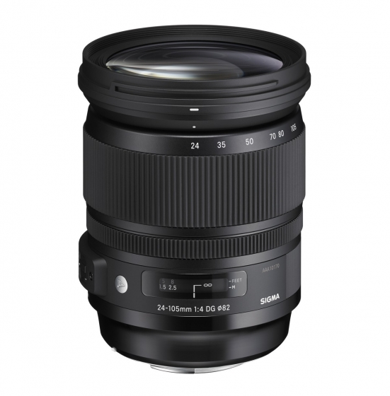 SIGMA 24-105mm f4 DG OS HSM Art Lens  Nikon mount            global