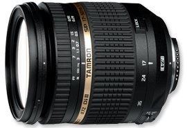 TAMRON 17-50mm f2.8 DiII VC Lens for EOS