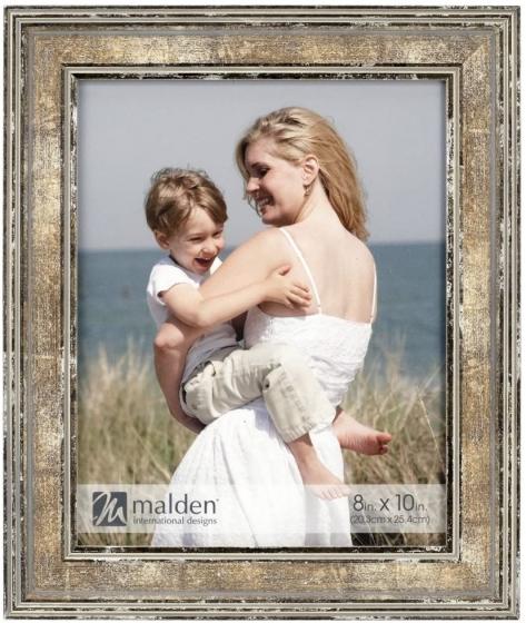 """MALDEN Brown Watercolors 8""""x10"""" Frame"""