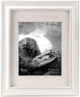 "MALDEN Classic Barnside White Frame with Mat 8""x10"" / 11""x14"""