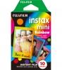 Fuji Instax Mini Rainbow Instant Film  Single Pack  10 shots