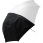 "WESTCOTT 60"" Optical White Satin Umbrella w/Remvbl. Cover"