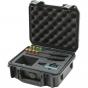 SKB 3i0907-4-SWK Black Case molded for Sennheiser EW mic series
