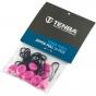TENBA Zipper Pulls - Pack of 10 Pink   #CLEARANCE
