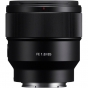 SONY 85mm f1.8 FE Lens Full Frame E Mount