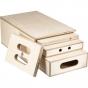KUPO 4-in-1 Nesting Apple Box Set (Pancake, Quarter, Half, and Full)