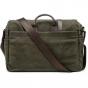 ONA Brixton Canvas Messenger Bag OLIVE