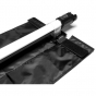 NANLITE Barndoor and Fabric grid for PavoTube 30C