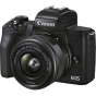 CANON EOS M50 Mark II Mirrorless Camera with 15-45mm Lens (Black)