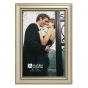 """MALDEN Traditions Silver 4""""x6"""" Frame"""