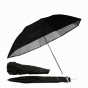 """ProMaster 36"""" Professional Compact Umbrella  Convertible silver/white"""