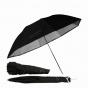 """ProMaster 45"""" Professional Compact Umbrella  Convertible silver/white"""