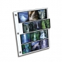 CLEARFILE Neg. Pages 100 pack 12 6x6   4 strips horizontally