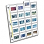 CLEARFILE Slide Pages 25 pack Holds 20 35mm slides  top load