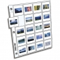 CLEARFILE Slide Pages 100 pack Holds 20 35mm slides side load