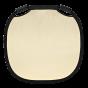 "PROFOTO Collapsible Fabric 32"" Reflector Medium SunSilver/White"