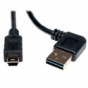 Tripp Lite UR030-006-RA USB 2.0 RA A Male to 5-Pin Mini B Male - 6 ft