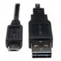 Tripp Lite UR050-006 USB 2.0 6-ft Reversible A Male to Micro B Male